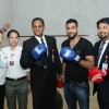 Boxing Champion Amir Khan appreciates Blends & Brews Coffee Shop Signature Drink