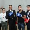 Boxing Champion Amir Khan appreciates Blends & Brews Coffee Shop Signature Drink