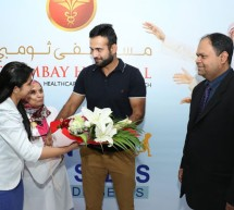 Irfan Pathan Endorses Diabetes Awareness Campaign at Thumbay Hospital Dubai