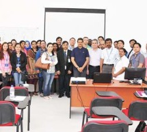 Basic Surgical Skills Workshop held by CASH at Gulf Medical University