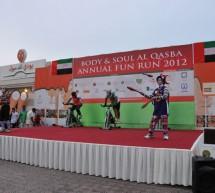 2012 Annual Fun Run held by Body & Soul Health Club & Spa, Al Qasba, Sharjah.