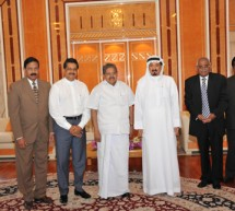 Gulf Medical University receives Minister for Overseas Indian Affairs