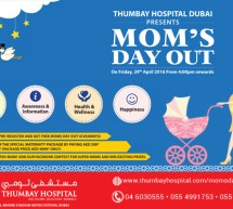'Mom's Day Out' at Thumbay Hospital Dubai on April 29