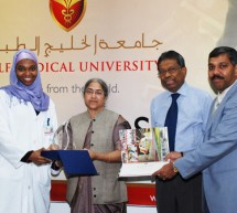 World Health Organization – IMEMR  Recognizes  Research  Efforts  of  Gulf  Medical University Faculty!
