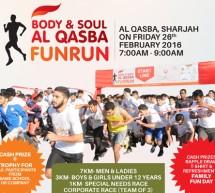 Body & Soul 'Annual Fun Run' to be Conducted in Al Qasba on  February 26