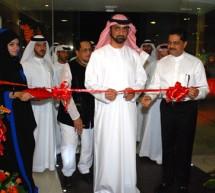 His Highness Sheikh Ammar Bin Humaid Bin Rashid Al Nuaimi, Crown Prince of Ajman inaugurates Body & Soul Health Club & Spa and The Terrace Restaurant at the Gulf Medical University Campus, Ajman-U.A.E. amidst pomp and splendor.