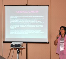 Lecture on Cervical Cancer held at the Sharjah Ladies Club, Sharjah.