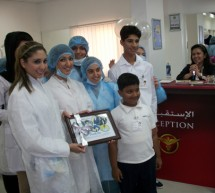 Multinational children with mental challenges from Manzil attend free dental checkup and awareness camp.