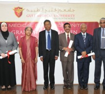 Gulf Medical University awards 6 faculty members with Postgraduate Diploma in Health Professions Education