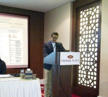 Mr. Thumbay Moideen speaks on Creating Trendsetting Brands at the 2nd Franchise  UAE, 2011.