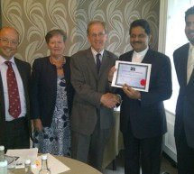 Formal launch of QHA Trent UK accreditation work in UAE , Middle East, India region through Thumbay Group