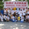 Around 1000 people ran for the GMC Ajman Annual Fun Run 2010 – RUN FOR HAITI