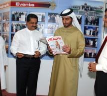 H.H Sheikh Rashid bin Humaid Al Nuaimi Visits Gulf Medical University