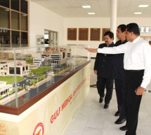 Hon. Shri Oscar Fernandes Visits Gulf Medical University