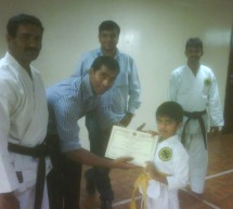 Karate Belt Grading Ceremony at Body & Soul, Al Qusais.