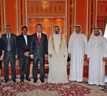 Minister of Health of Republic of Macedonia visits Gulf Medical University, Ajman – United Arab Emirates  on 30th September, 2010