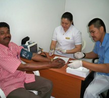 GMC Hospital Fujairah served to more than 400 patients during the  Free Mega Health Camp on 9th April 2010.