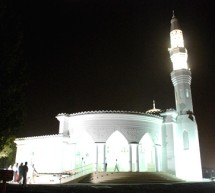 Thumbay Moideen Masjid Opened at Gulf Medical University – UAE on 28th July 2010