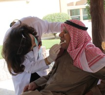 College of Dentistry, Gulf Medical University reaches out to elderly people in Old Age Homes of Ajman & Sharjah.