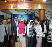 Students of Pharmacy College, a constituent of Gulf Medical University, Ajman.  pay an onsite visit to Global Pharma,  Dubai Investment Park, Dubai.