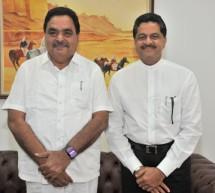 Mr. Ramnath Rai, Congress Member of Legislative Assembly from Karnataka visits Gulf Medical University, Ajman.