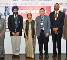 National Conference on Sports Medicine held at Gulf Medical University, Ajman