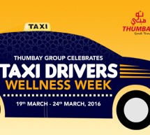 Thumbay Group to Celebrate 'Taxi Drivers Wellness Week' from   March 19 to 24