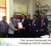 Thumbay Group's 'The Terrace Restaurant' Gets Prestigious HACCP Certification