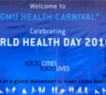 Gulf Medical University students celebrate World Health Day 2010 in association with City Center Ajman.