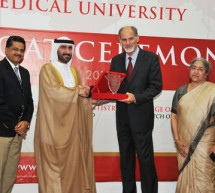 New Batch Of M.B.B.S, D.M.D, B.P.T, Pharm D Students Ceremoniously Initiated into The Healthcare Profession at Gulf Medical University, Ajman – U.A.E.