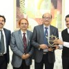 President of Dental Council of India Dr. Dibyendu Mazumder Visits Gulf Medical University Ajman