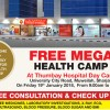 Thumbay Hospital Day Care to Conduct Free Mega Health Camp in Sharjah on January 19