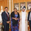 High-profile Delegation from the Republic of Ghana Visits Ajman Ruler's Court and Academic Unit of Thumbay Group