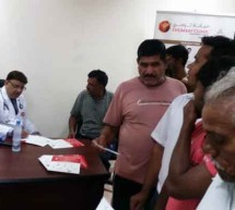 Thumbay Clinic Sharjah Organizes Free Medical Camp for Fast Building Cont. Company Employees