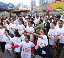 Body & Soul's 'Annual Fun Run' in Al Qasba Promotes Healthy Lifestyles