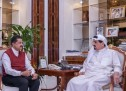 His Highness Sheikh Humaid Bin Rashid Al Nuaimi Receives Ajman-based Businessman Dr. ThumbayMoideen