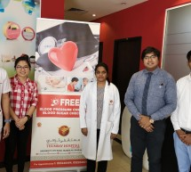 Thumbay Hospital Day Care, University City Road Muweilah-Sharjah Conducts Free Health Camp at Scion International in Sharjah.