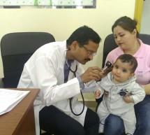 Thumbay Clinic Conducts Monthly Pediatric Health Checkup Camp at Chubby Cheeks Nursery RAK