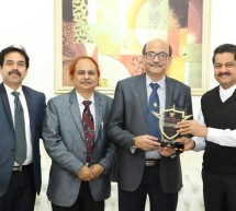 President of Dental Council of India Dr. Dibyendu Mazumder Visits Gulf Medical University Ajman