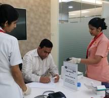 Thumbay Hospital Ajman Conducts Free Health Camp at Ajman Bank