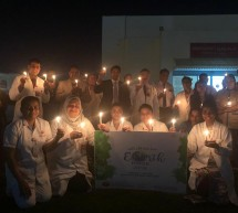 Thumbay Hospital Fujairah observes the Earth Hour