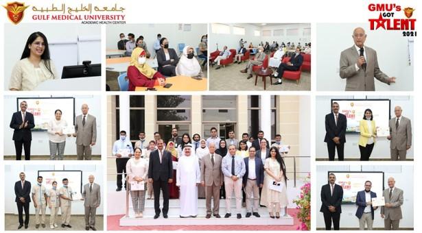 Celebrating GMU's Got Talent 2021 @ Gulf Medical University, Ajman