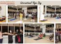 International Yoga Day at Gulf Medical University