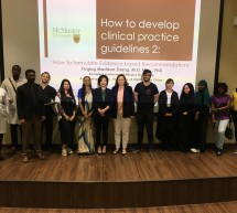 Workshop on Evidence-based Medicine: How to Develop Clinical Practice Guidelines