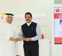 H.E. Mirza Hussain Al Sayegh Visits Thumbay Medicity, Tours State-of-the-art Facilities for Education, Healthcare, Research