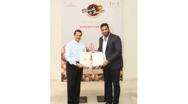 Blends and Brews to open soon in Saudi Arabia, Agreement Signed between Thumbay Hospitality division & Sultan Saad Seed Al Qahtani Trading Est.