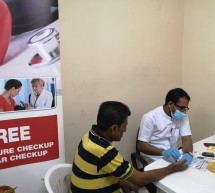 Thumbay Hospital Day Care, University City Road Muweilah-Sharjah Conducts Free Health Camp at IIFCO Group Staff Accommodation in Sharjah