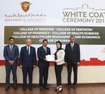 Gulf Medical University's White Coat Ceremony Welcomes New Batch of 472 Future Healthcare Professionals