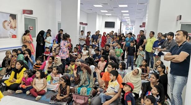 Thumbay Hospital Day Care, University City Road Muwailah-Sharjah organizes Back To School Campaign