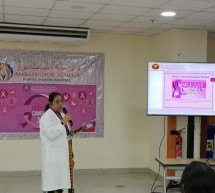 Thumbay Hospital Day Care, University City Road Muwailah-Sharjah Organized Breast Cancer Awareness Event in Ambassador School Sharjah